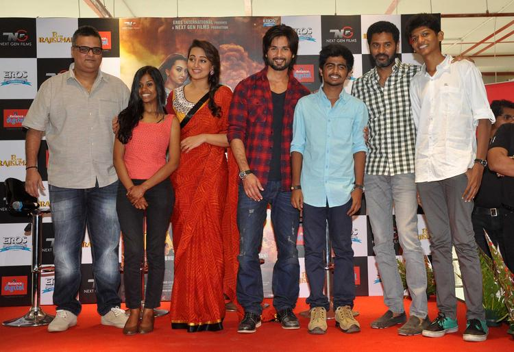 R Rakumar Cast And Crew Promote Their Movie