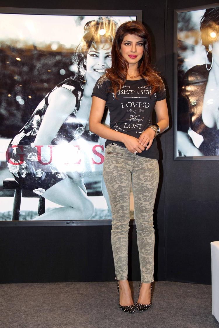 Priyanka Chopra Campaign New Collection Of Guess Cool Photo