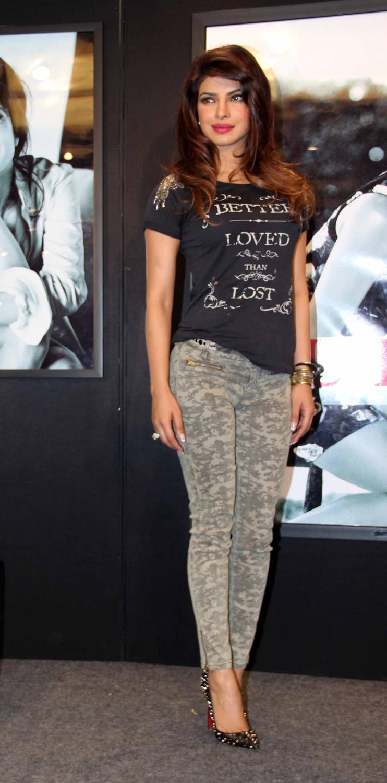 Priyanka Chopra Campaign New Collection Of Guess Glamour Still