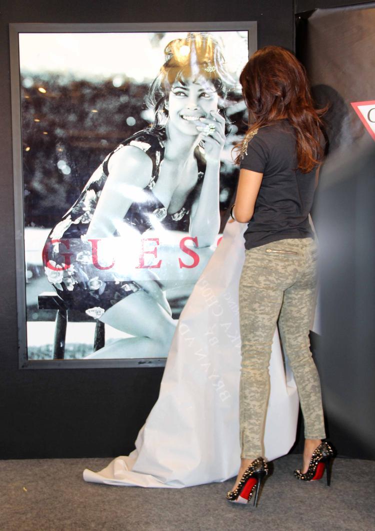 Priyanka Chopra Launch Her Guess Magazine Poster