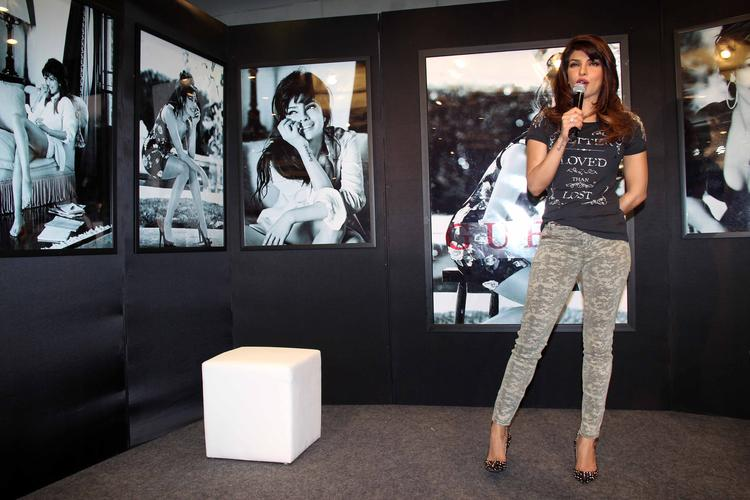 Priyanka Chopra Speaks To Media About New Collection Of Guess