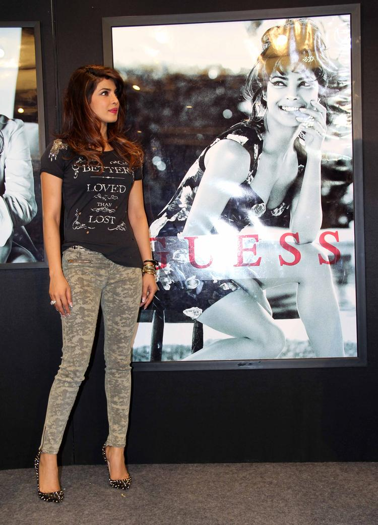 Priyanka Chopra Unveils The Guess Campaign New Collection
