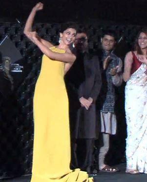 Hot Deepika Performs Nagada Dance At The Marrakech Film Festival