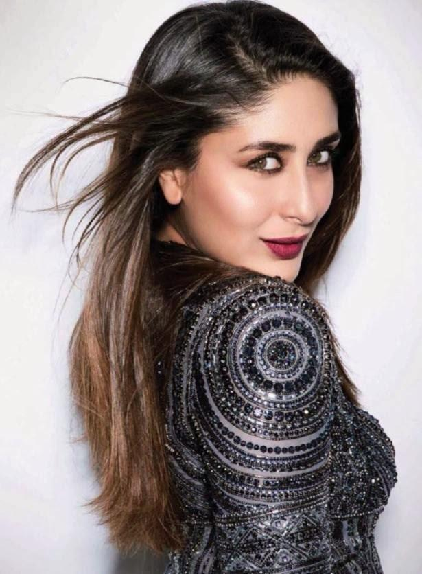 Bollywood Bubbly Girl Kareena Kapoor Romantic Face Look Glamour Pic