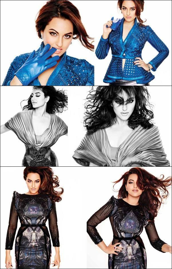 Sonakshi Sinha Latest Hot Sizzling And Sexy Photo Shoot For L'Officiel
