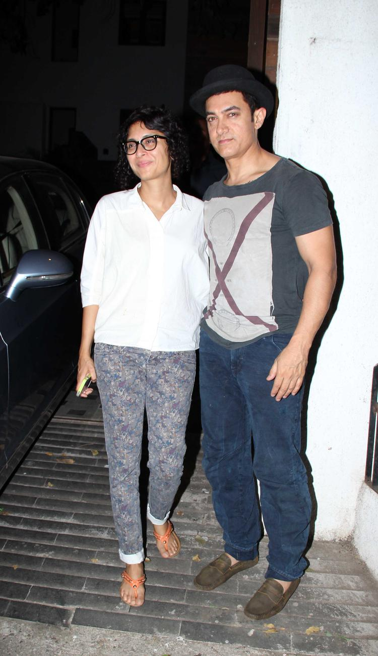 Aamir Khan And Kiran Rao Celebrated Their Second Son Azad Rao Khan's Birthday Bash