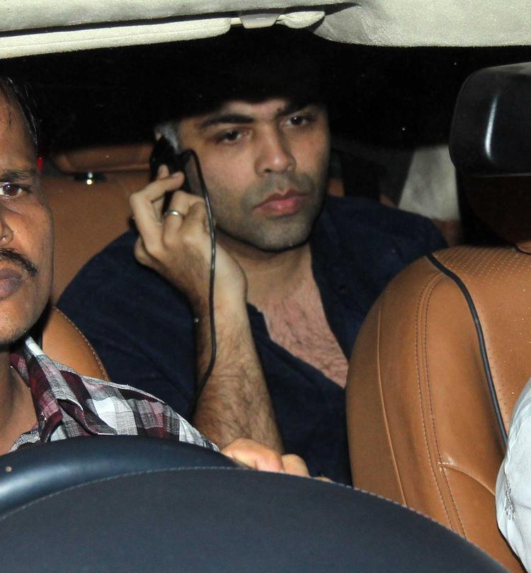 Karan Johar Arrives 2nd Azad Rao Khan Birthday Bash