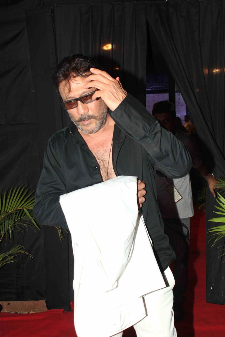 Jackie Shroff Present At IBFW 2013 On Day 3 Raghavendra Rathore Show