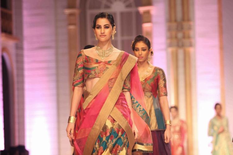 Models Walks At The Aamby Valley India Bridal Fashion Week 2013 Show