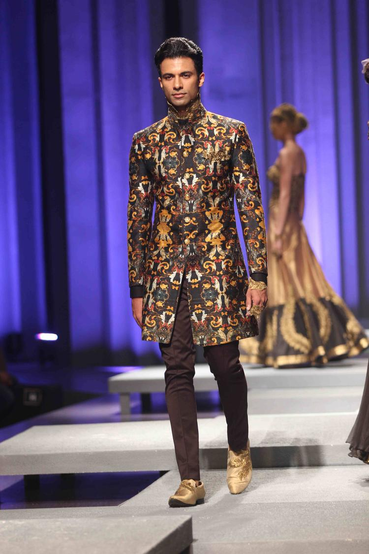 A Model Walks On Ramp On Day 4 IBFW 2013 Shantanu And Nikhil Show