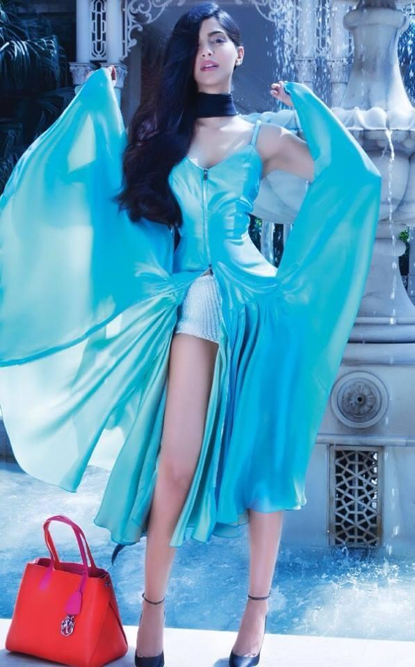 Sonam Kapoor In Dior On Hi! Blitz December 2013 Edition