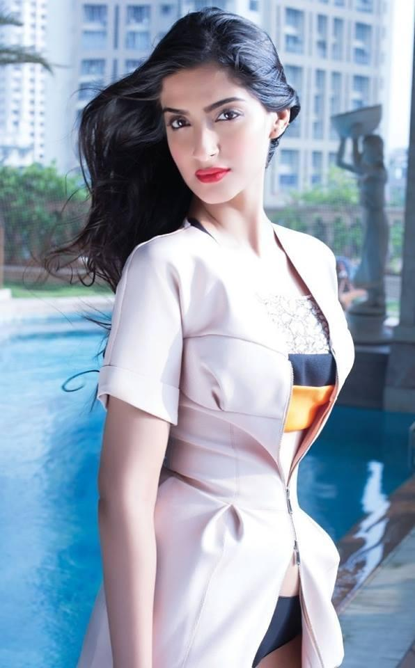 Sonam Kapoor Fashionable Look Shoot For Hi! Blitz December 2013 Issue