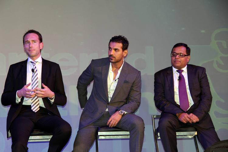 Bollywood Hot Star John Abraham At The SCMM Press Conference