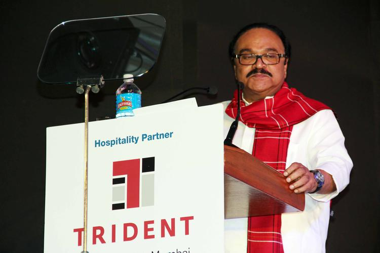 Chhagan Bhujbal Speaks During The SCMM Press Conference