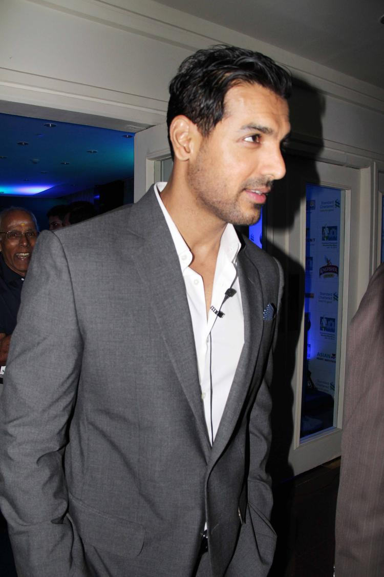 John Abraham Snapped At The Press Conference Of SCMM