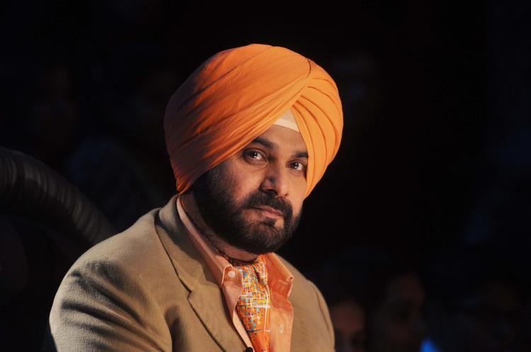 Navjot Singh Sidhu At Comedy Nights with Kapil Show