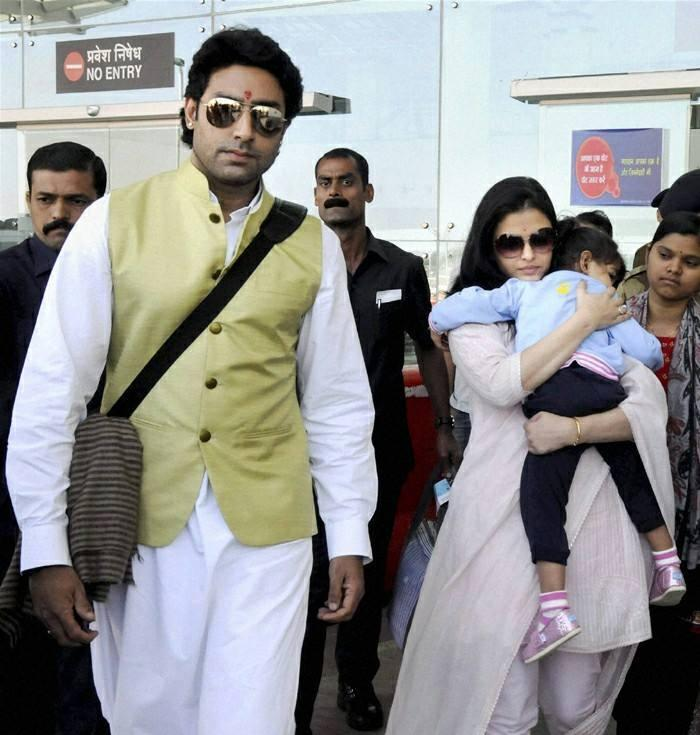 Abhi And Aish At Bhopal To Attend A Family Wedding Ceremony
