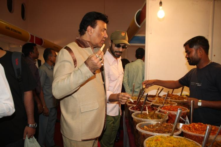 Annu Mallik Take Food At The Uppercrust Food And Wine Show 2013 Launching Event