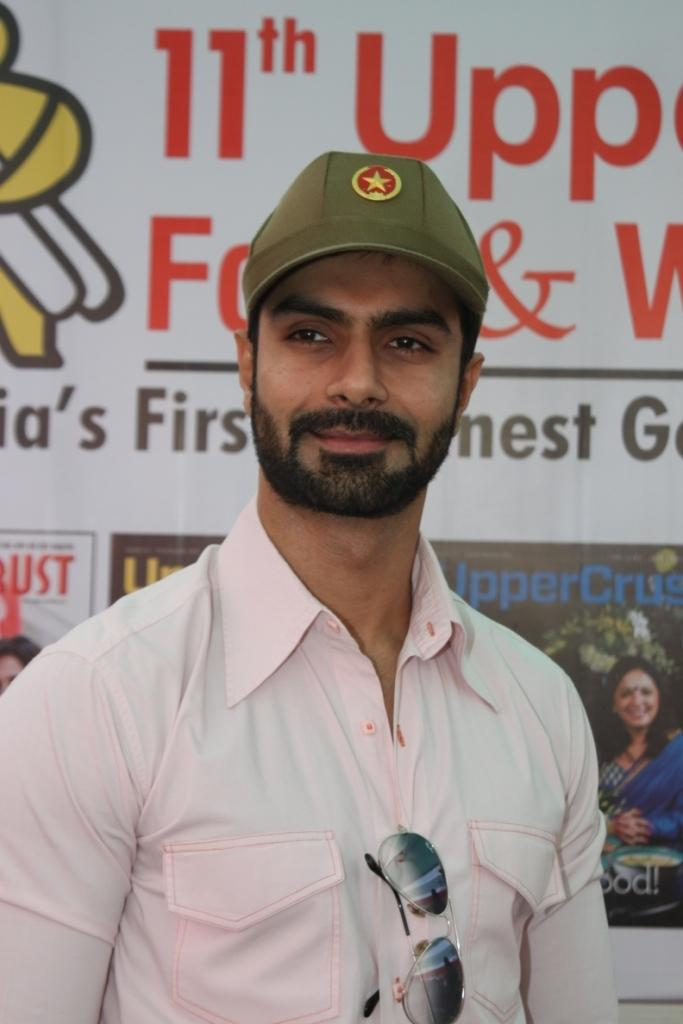 Ashmit Patel Handsome Look At Uppercrust Food And Wine 2013 Show Launch