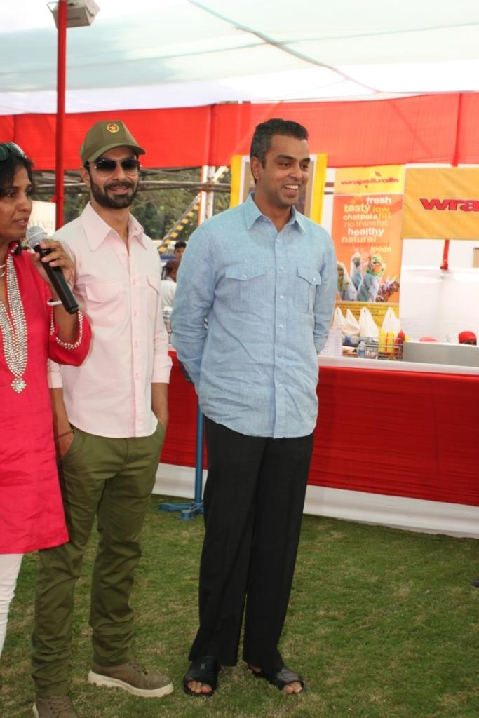 Milind Deora And Ashmit Patel Attend The Uppercrust Food And Wine Show 2013 Launching Event