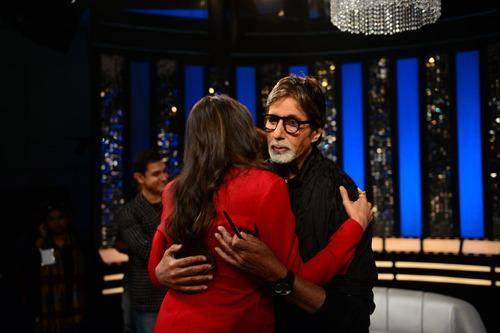 Deepika Padukone On The Front Row With Amitabh Bachchan