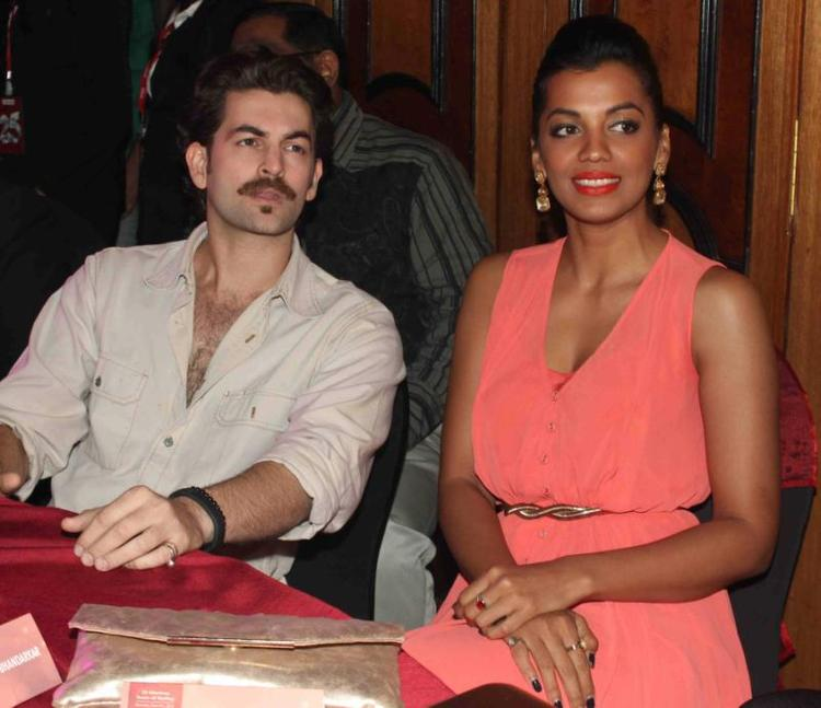 Neil Nitin And Mugdha During The 25th Anniversary Celebration Of Shiva's Saloon And Academy