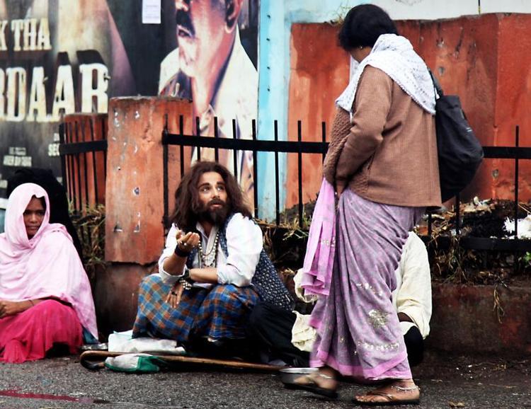 Vidya Balan New Look In Bobby Jasoos Movie As A Beggar