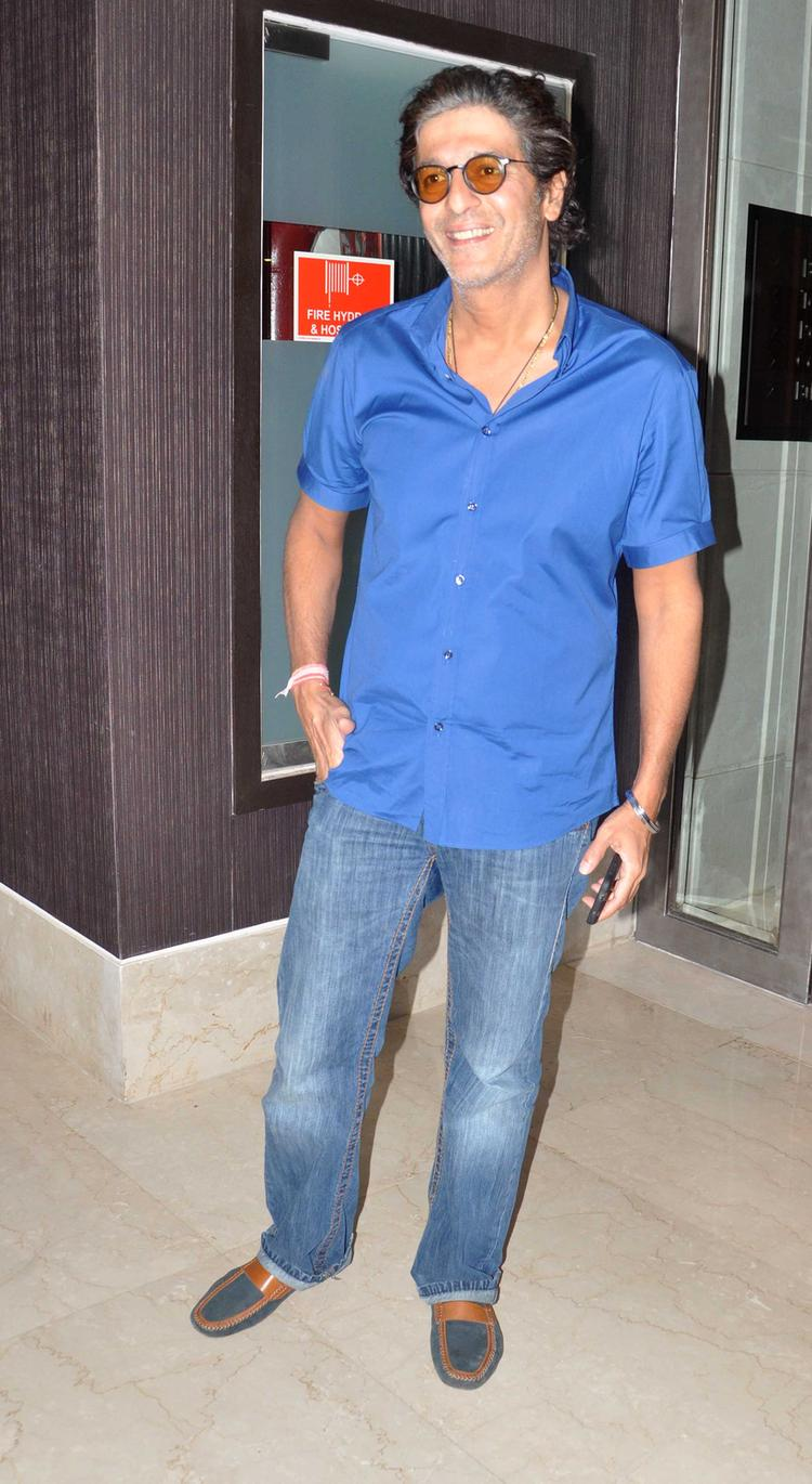 Chunky Pandey Graced During The Launch Of Deanne Pandey's Book