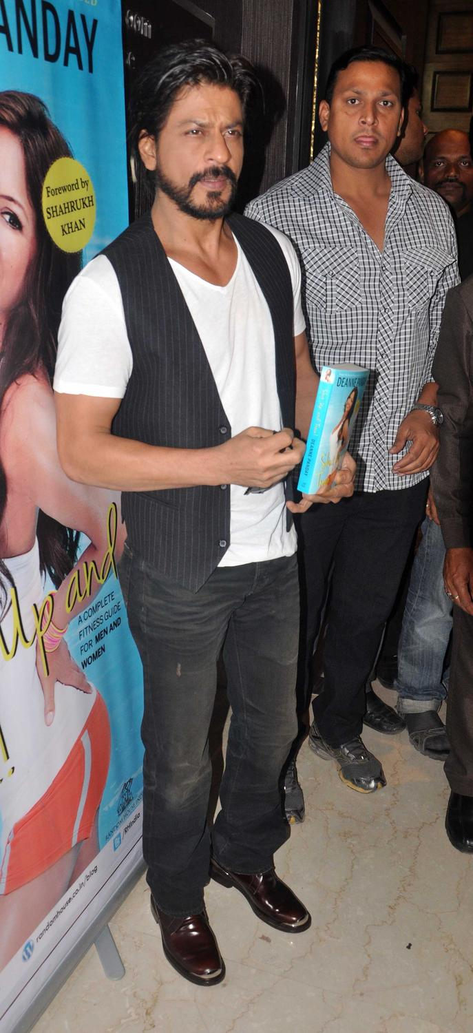 Shahrukh Khan Launches Deanne Pandey's Book Shut Up And Train