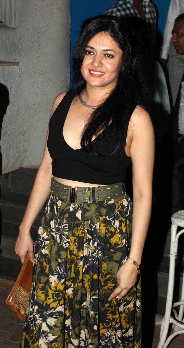 Smiling Sonal Sehgal Stunning Look At The Vikas Bahl Birthday Bash