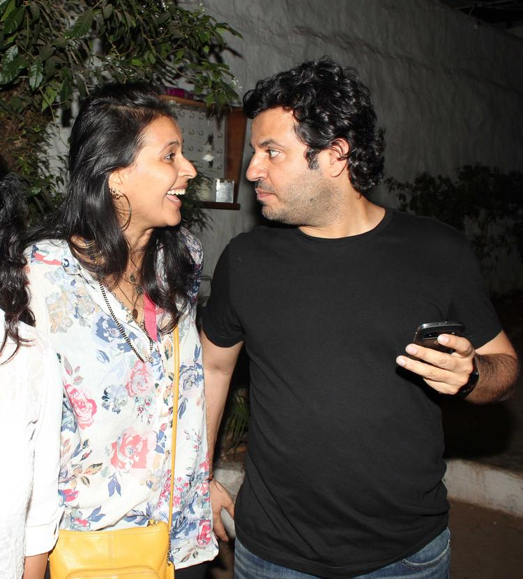 Vikas Bahl Chatting Still During His Birthday Bash