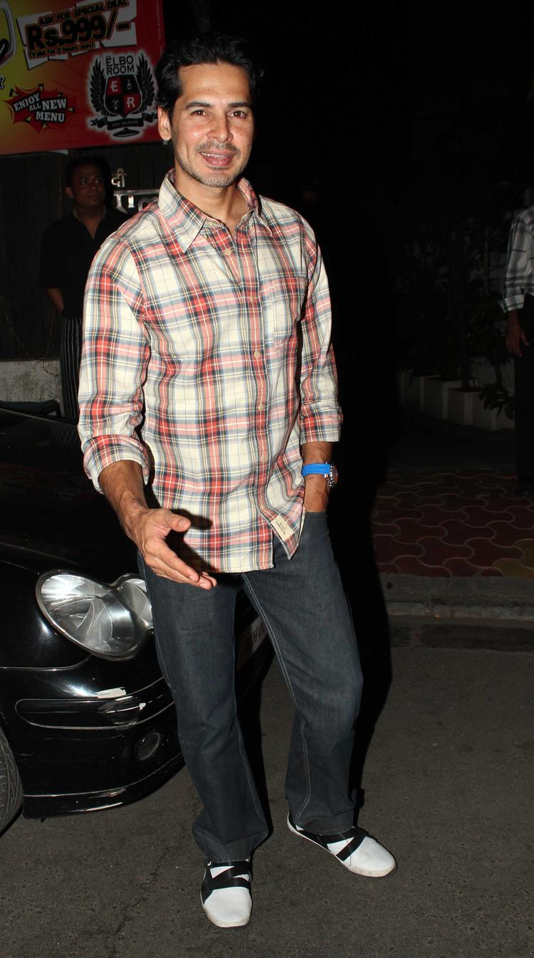 Bollywood Stylist Hunk Dino Morea Snapped For Celebrating His Birthday