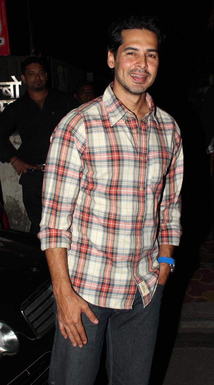 Dino Morea Looking Very Handsome During His Birthday Bash