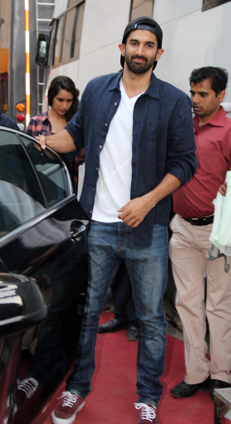 Aditya Roy Snapped At Filmistaan For Shooting Koffee With Karan