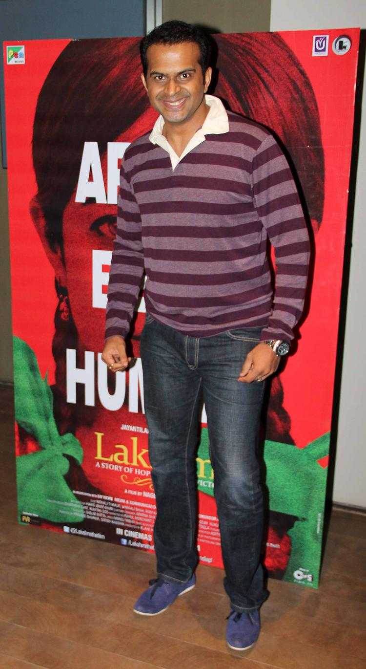 Celeb At Lakshmi Movie Special Screening