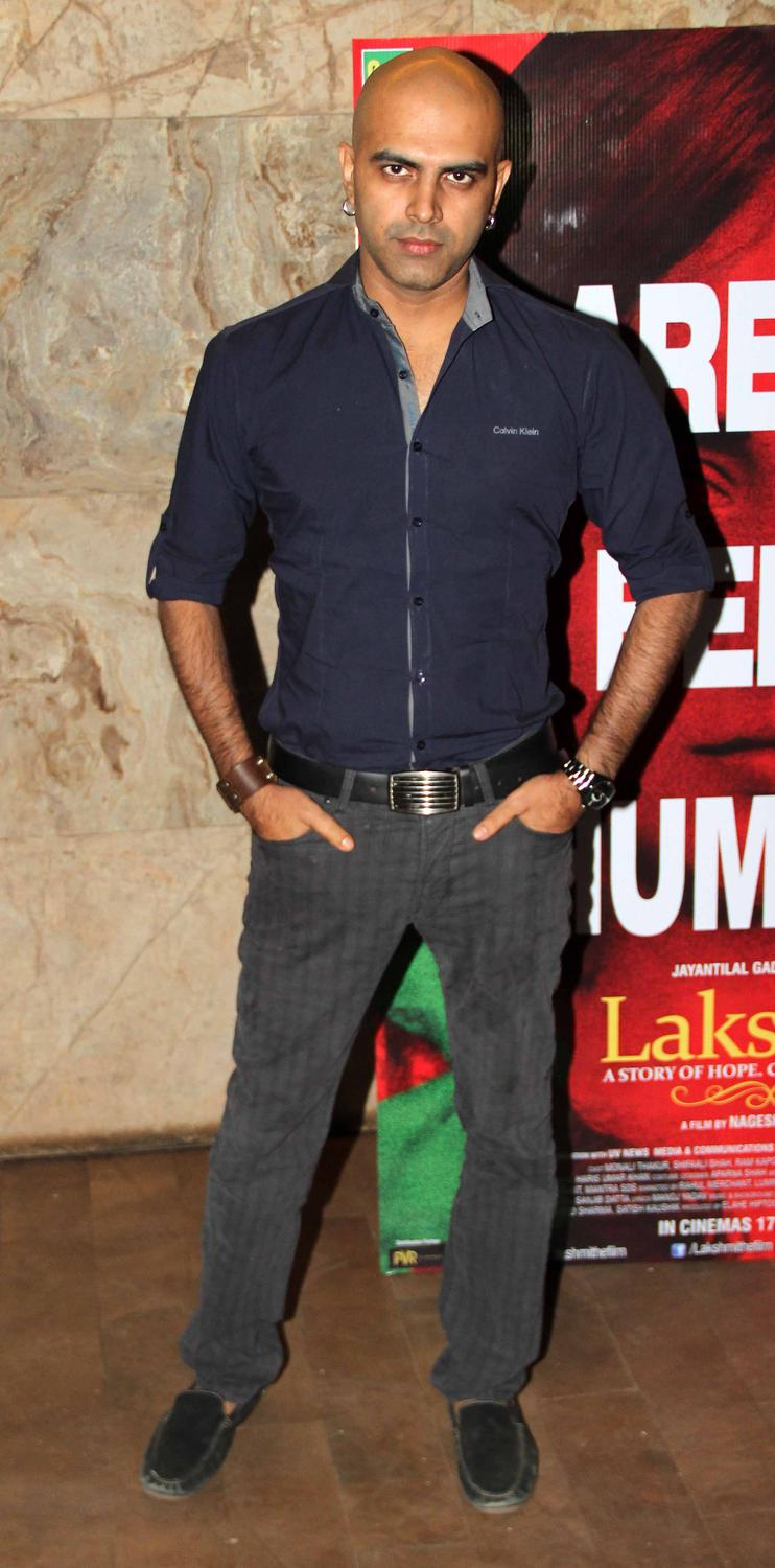 Celeb Strikes A Pose For Photo Shoot At Lakshmi Movie Special Screening