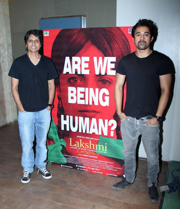 Lakshmi Movie Special Screening Nagesh Kukunoor Pose For Camera