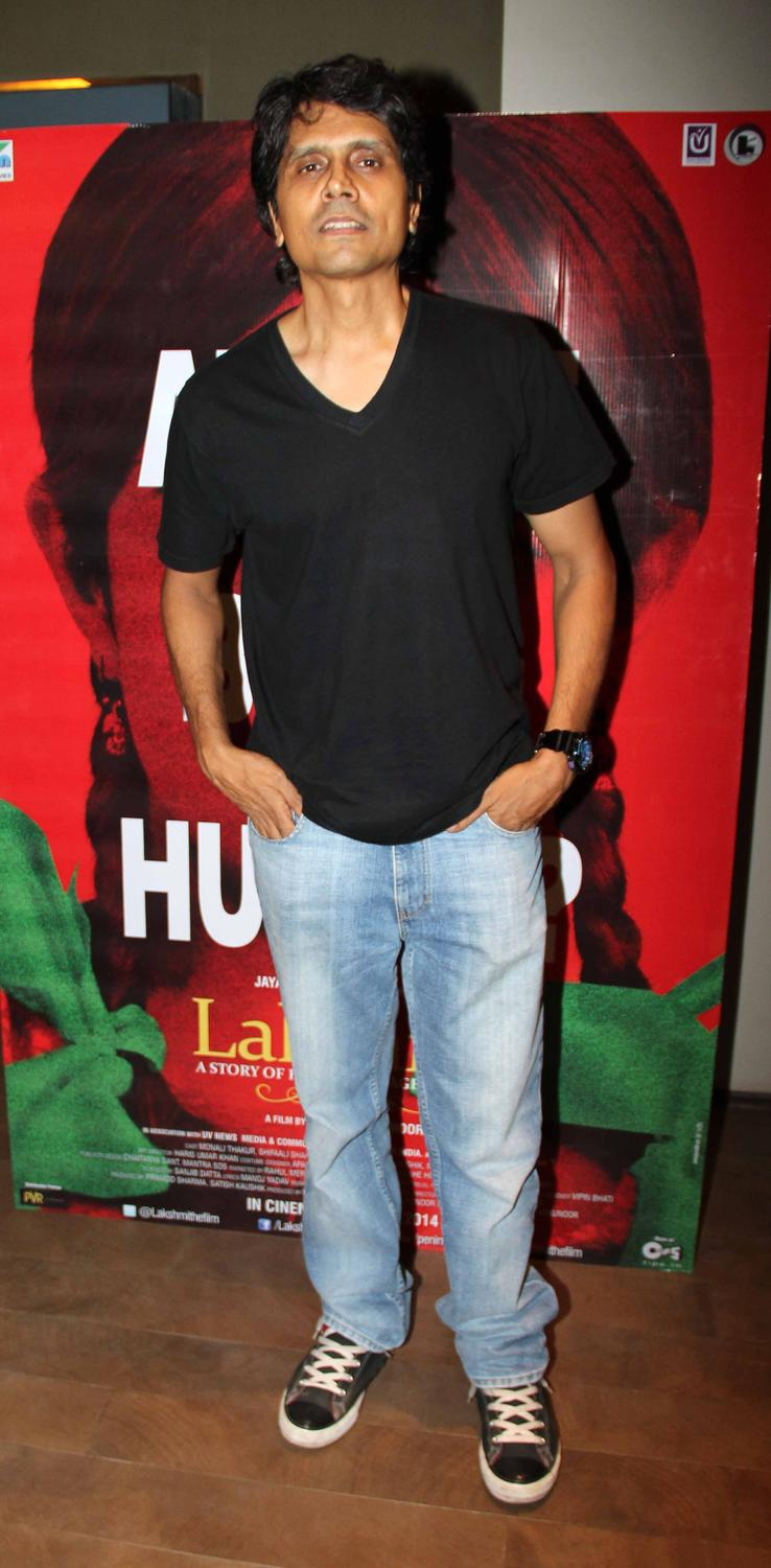 Nagesh Kukunoor At Lakshmi Movie Special Screening