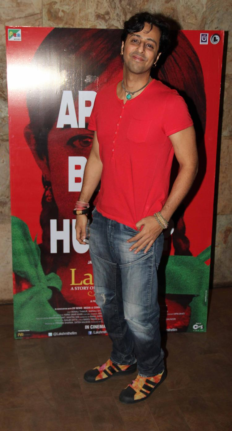 Salim Merchant Snapped At Lakshmi Movie Special Screening