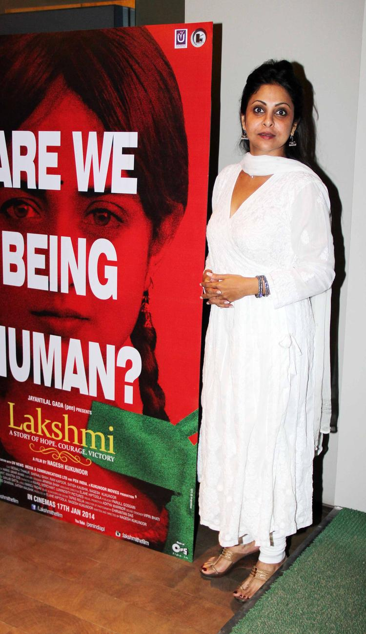 Shefali Shah Attend Lakshmi Movie Special Screening