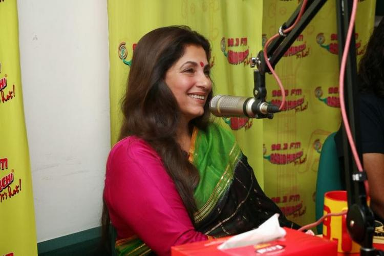 Dimple Kapadia Promote Her Upcoming Film At Radio Mirchi 98.3 FM