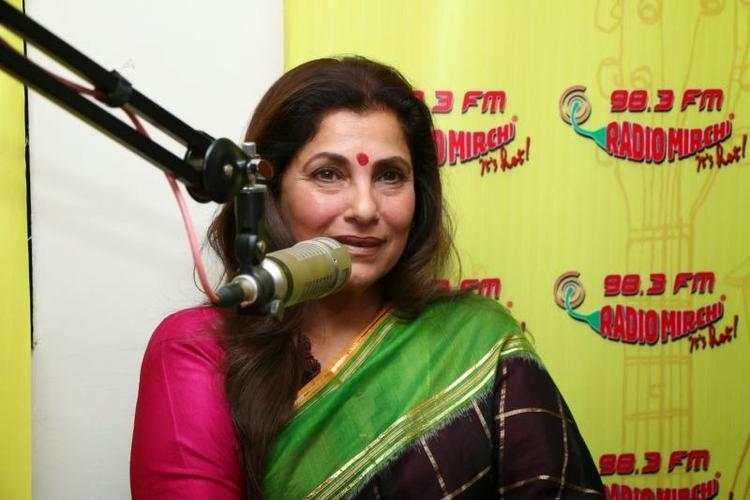 Dimple Kapadia Promote WHAT THE FISH At 98.3 FM
