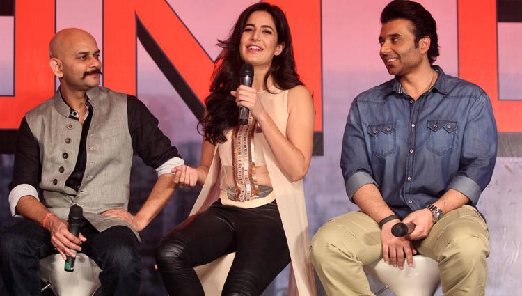 Katrina Speaks Up, Vijay Krishna And Uday Look On At Dhoom 3 Press Conference