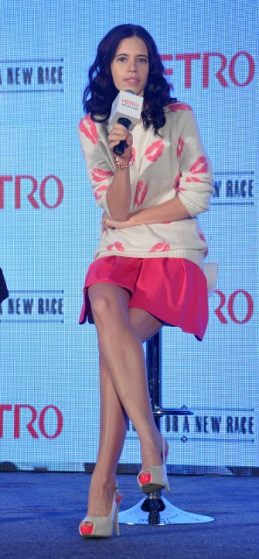 Kalki Say Something During The Launch Of Metro Shoes Campaign For New Race