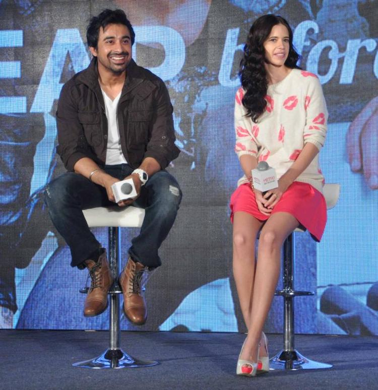 Rannvijay And Kalki Spotted For Promote Metro Shoes Campaign In Mumbai For New Race