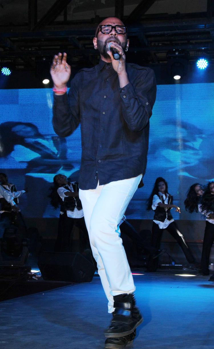 Benny Dayal Performed During The Yaariyan Music Launch Event