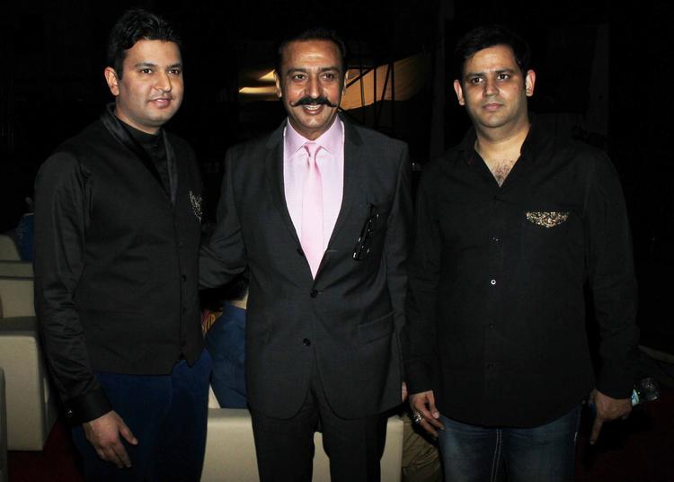 Bhushan Kumar And Gulshan Grover Clicked At Yaariyan Music Launch Event