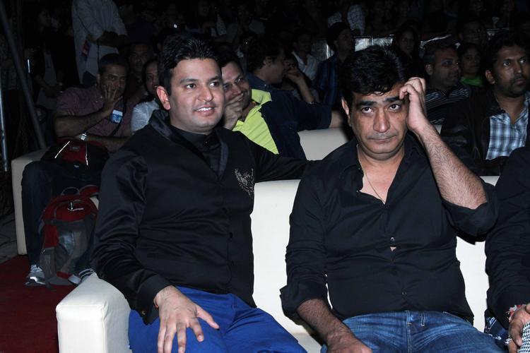 Bhushan Kumar And Kishan Kumar Enjoy The Program During The Yaariyan Music Launch Event