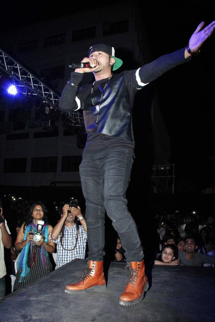 Honey Singh Performed At The Yaariyan Music Launch Event