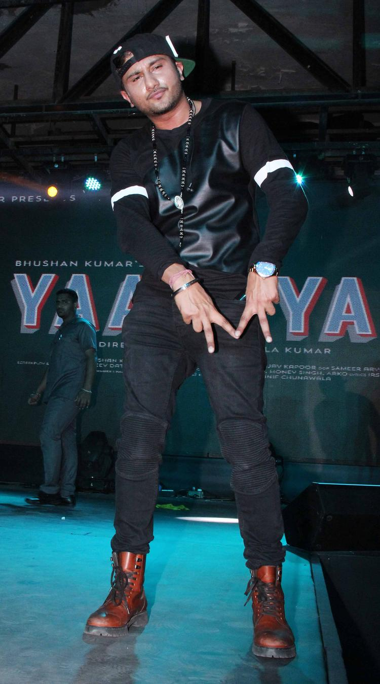 Honey Singh Rocked On The Stage During The Yaariyan Music Launch Event